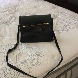 Liz Claiborne Small black organizer purse